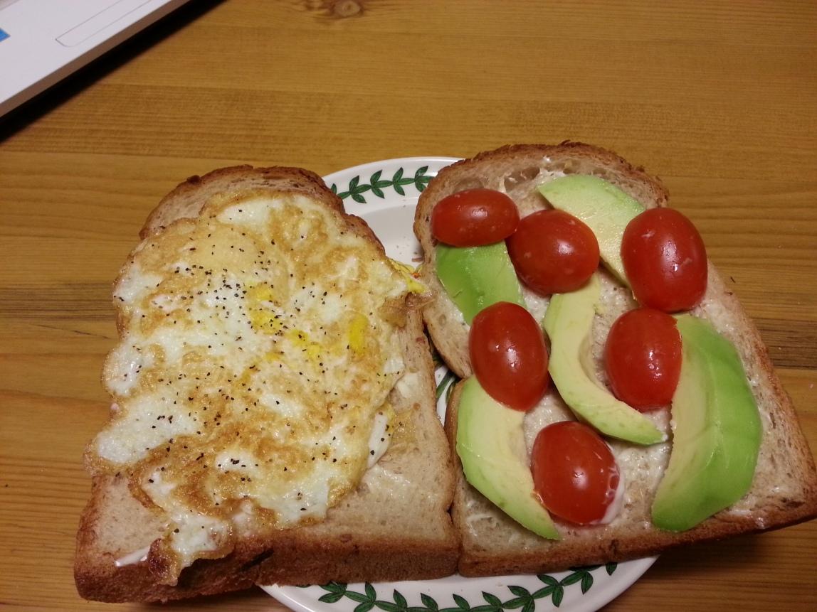 fried egg version