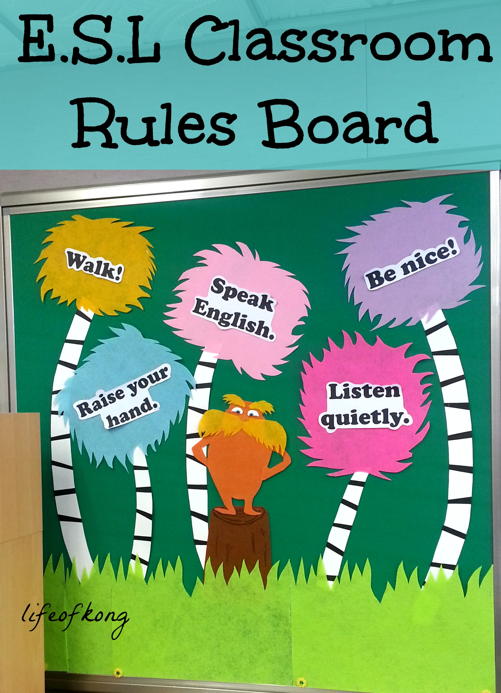 Classroom Ideas Bulletin Boards ~ Classroom bulletin boards part ii life of kong